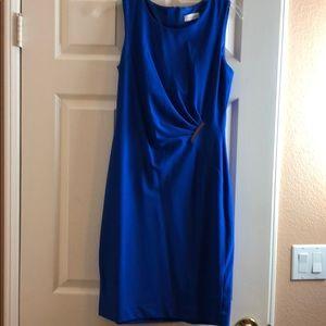 CALVIN KLEIN Blue Sleeveless Dress Size 2